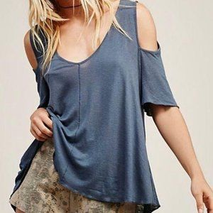 Free People Bittersweet Cold Shoulder XS